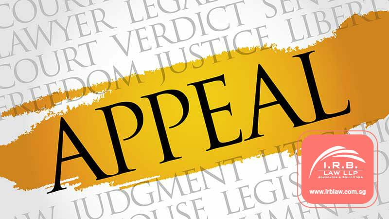 The Criminal Appeals Process Singapore