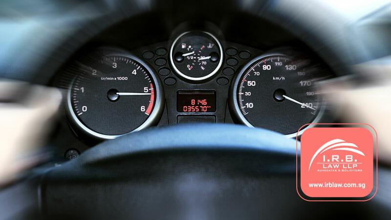 Caught Speeding in Singapore